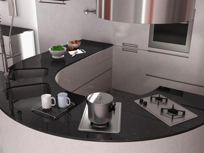 Trang trí cho không gian bàn bếp