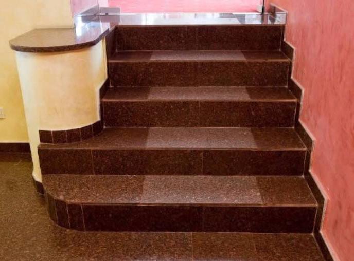 Đá ốp cầu thang - bậc tam cấp