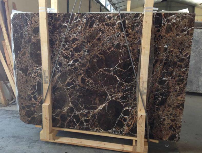 Đá marble nâu đất
