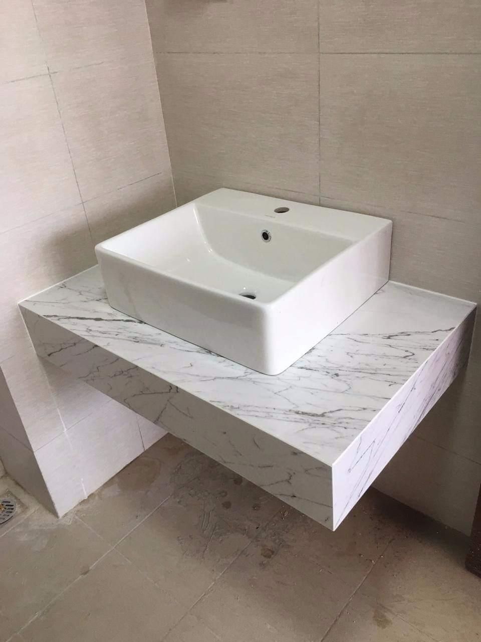 Đá làm bàn lavabo