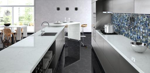 Đá trắng sứ dùng trong nhà bếp