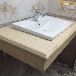 bàn đá lavabo granite phòng tắm