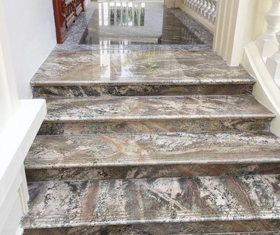 Nguyên tắc lựa chọn đá tự nhiên ốp cầu thang