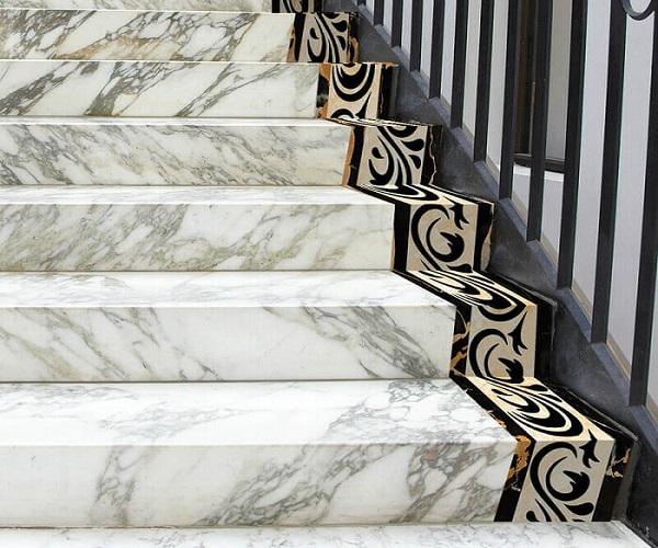 Vai trò của đá ốp cầu thang trong không gian nhà bạn