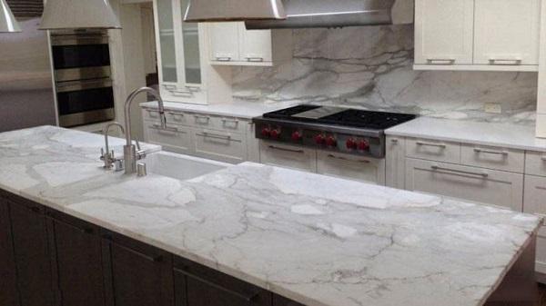 Đá marble ốp bàn bếp