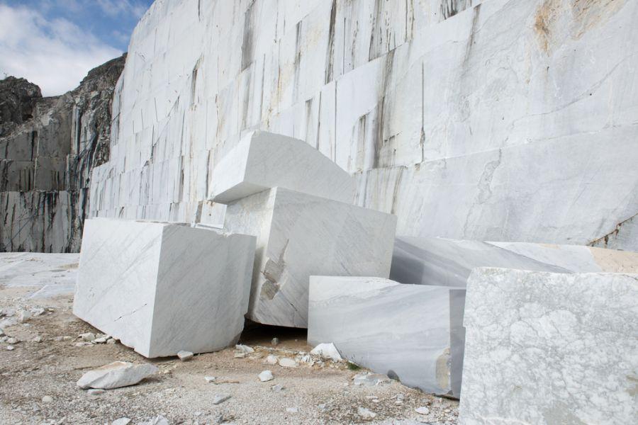 quy trình khai thác đá trong tự nhiên
