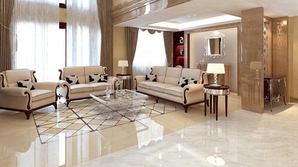 Những lưu ý khi lựa chọn đá lát nền phòng khách