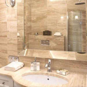 đá vân gỗ loạn ốp nhà tắm